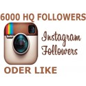 6000 Instagram Followers
