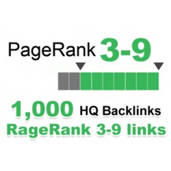 Top HQ 1.000 + Backlinks für Ihre Links / Keywords in nur 3-9 Websites PR.