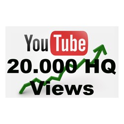 20000 YOUTUBE VIEWS