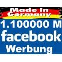 1.100.000 Top Facebook Werbung in unserer Deutschsprachige Gruppe - SEO aufbau