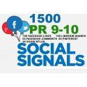 1500 HQ PR9-PR10 Social Signale Backlink Monster -5 BEST Social Media Website