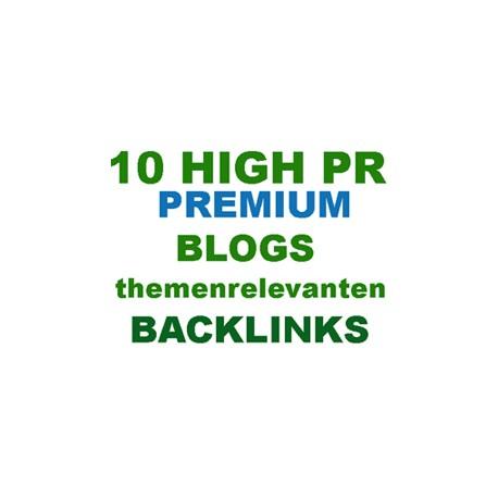 10 Deutschen Blogkommentare Backlinks aus themenrelevanten Artikeln Handeinträge