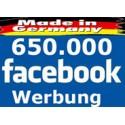650000 Top Facebook Werbung in unserer Deutschsprachige Gruppe - SEO aufbau