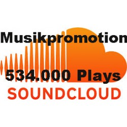 534.000 SOUNDCLOUD PLAYS