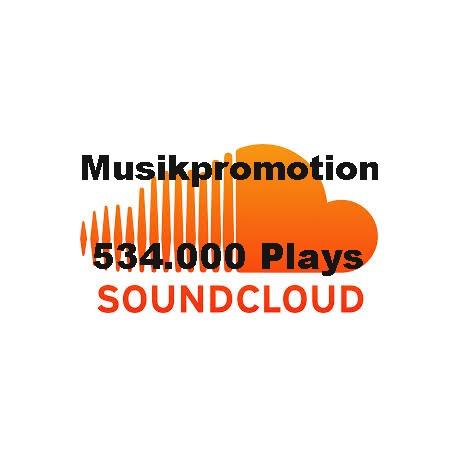 534.000 SOUNDCLOUD PLAYS