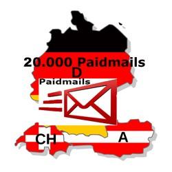 eMail Online Werbung Standalone Paidmail 20.000 Empfänger + Statistik + Klicks
