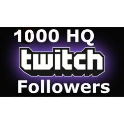 1000 HQ Twitch Followers