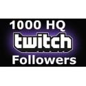 1000 Twitch Followers