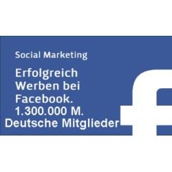 1.300.000 Top Facebook Werbung in unserer Deutschsprachige Gruppe - SEO aufbau