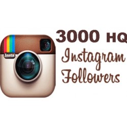 3.000 Instagram Followers