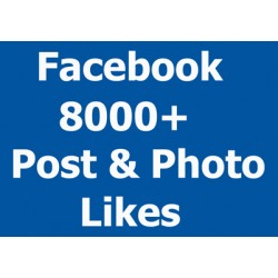 8000+ echte Facebook Post PhotoLikes ★ Social-Media-Promotion lifetime Garantie