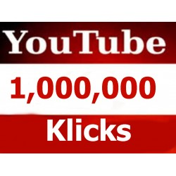 10.000 bis 1,000,000 HQ Youtube Klicks für Ihre Youtube video