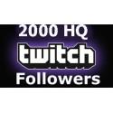 2000 Twitch Followers