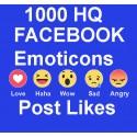1000+ FACEBOOK Emoticons Post LIKE Für LifetimeE