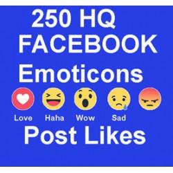 250+ FACEBOOK Emoticons LIKE
