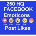 250+ FACEBOOK Emoticons Post LIKE Für LifetimeE