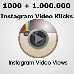 1.000 bis 1 Million HQ INSTAGRAM VIDEO Klicks für Ihre Facebook video