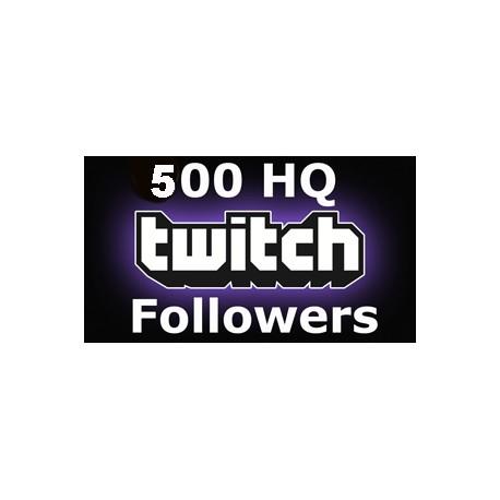 500 Twitch Followers