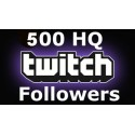500 Twitch Followers Verfolger