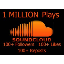Soundcloud Plays + Follower + Like + Reposts Kaufen