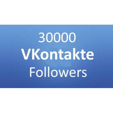 Buy VKontakte (VK.com) Follower
