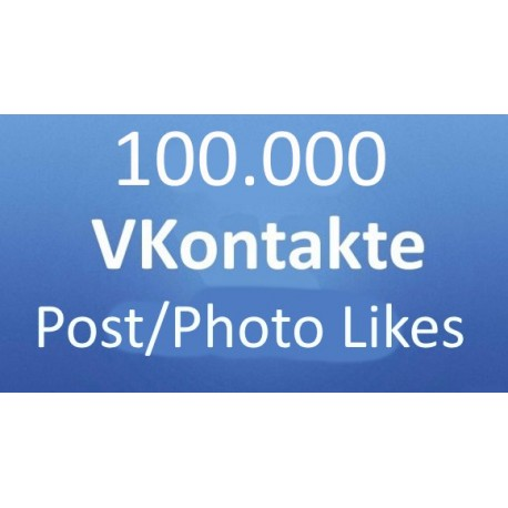 VKontakte Post/Photo Likes kaufen