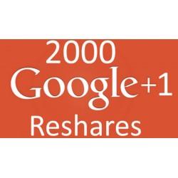 Google+ Reshares / Teilen Kaufen