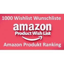 Amazon Wishlists From Verified Account Following