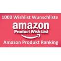 Amazon Wunschliste Produkt Ranking