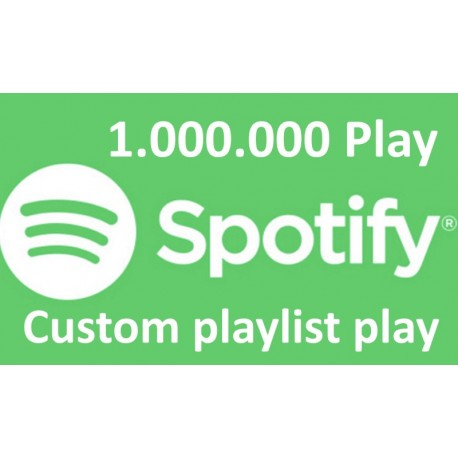 Spotify Custom Spotify Playlist Plays Kaufen
