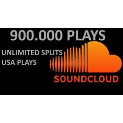900,000 BEST QUALITY NON DROP SOUNDCLOUD PLAYS