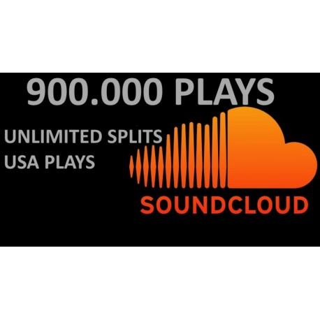 900.000 SOUNDCLOUD PLAYS