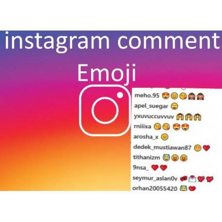 instagram kommentare emoji Kaufen