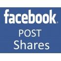Facebook Post Shares / Teilen