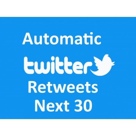 Buy Automatic Twitter Retweets one Monath