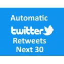 Buy Automatic Twitter Retweets