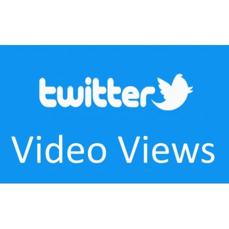 Twitter Video Views  kaufen