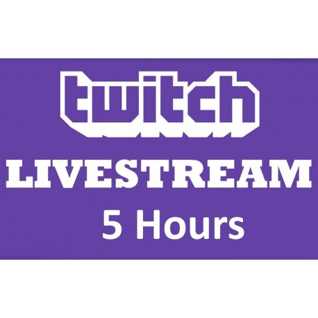 Buy Twitch Live stream Viewers