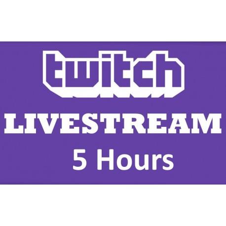 Twitch Live stream zuschauer