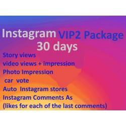 Instagram VIP2 Paket