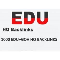 Top HQ 1000+ EDU-GOV Backlinks SEO Linkaufbau