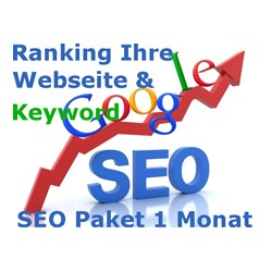 1 month SEO - Paket.Wir ranking your website and keyword on Google