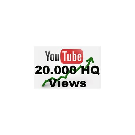 20000 YOUTUBE BESUCHER