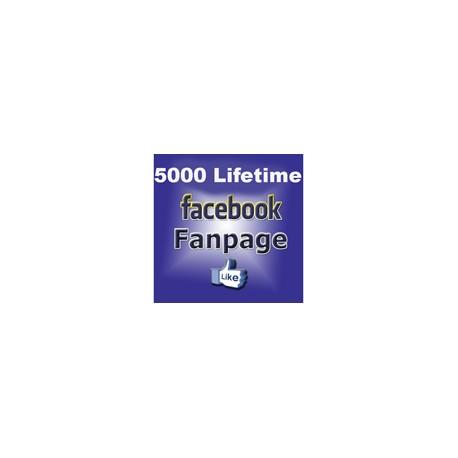 5000+ FACEBOOK FANPAGE LIKE