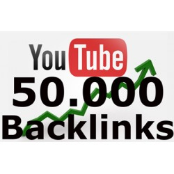 50,000 BACKLINKS to your YouTube Video for Seo Ranking