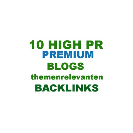 10 German blog comments backlinks from theme relevant articles hand items