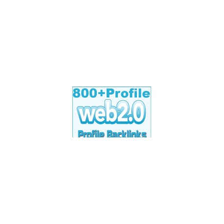 800+ relevanten Web.2 Porfile Backlinks SEO Linkaufbau