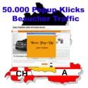 50.000 Popup Klicks Werbung Trafffics in Ihre Webseite