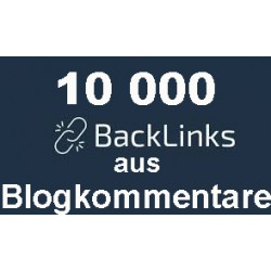 Give you 10000 blog comments Backlinks