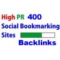 400 social bookmark Premium quality backlinks